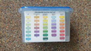 API Freshwater Master Test Kit Color Coding Chart
