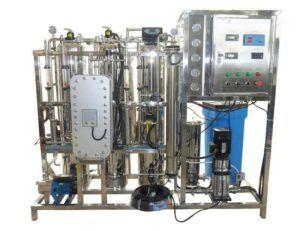 500 Liters per Hour Distilled Water Plant