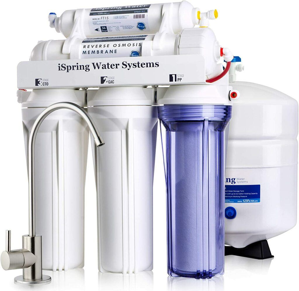 Reverse Osmosis System 5 Stage