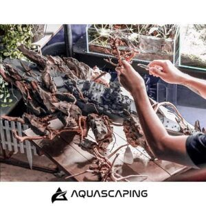 Taiwanese Style Making the Hardscape with a Sunken Ship by Alfred Repani Estrella Philippines